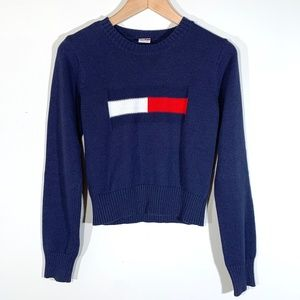 Tommy Hilfiger | Cropped Tommy Jeans Logo Sweater